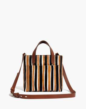 Madewell The Small Transport Crossbody in Striped Calf Hair