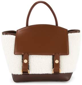 Sacai fluffy tote bag