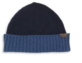 Hickey Freeman Two-Toned Cashmere Beanie