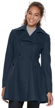 Apt. 9 Women's Wool Blend Double-Breasted Coat