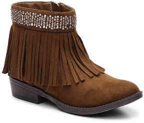 Steve Madden Girls Maddyy Youth Western Boot