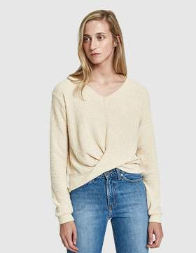 Which We Want April Wrap Knit Top