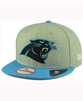 New Era Carolina Panthers Heather 2 Tone 9FIFTY Snapback Cap