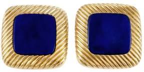 Piaget 18K Yellow Gold & Lapis Lazuli Cufflinks