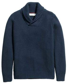 H&M Sweater with Shawl Collar