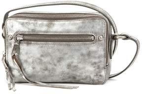 Frye Zip Metallic Camera Cross-Body Bag