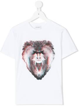 Marcelo Burlon County of Milan Kids monkey print T-shirt