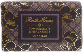 Pomegranate + Blackberry Soap Bar by Bath House (100g Bars Of Soap)