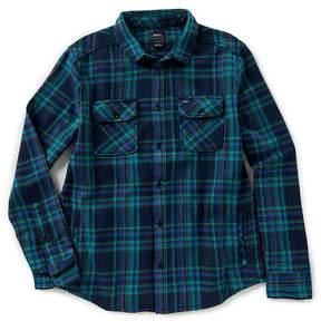 RVCA Camino Long-Sleeve Flannel Shirt