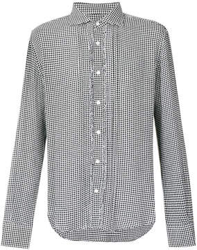Ermanno Scervino houndstooth shirt