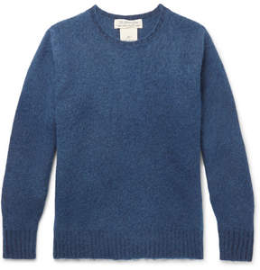 Remi Relief Slim-Fit Indigo-Dyed Wool Sweater