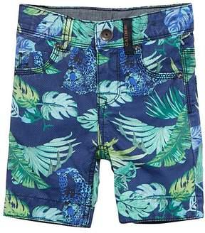 Catimini Royal Blue Palm Bermuda Shorts - Boys
