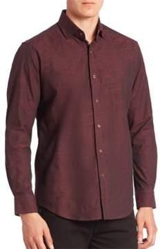 Robert Graham Weylin Textured Button-Down Shirt