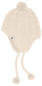 The North Face Women's Fuzzy Earflap Beanie - White