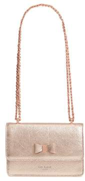Ted Baker Micro Leather Crossbody Bag