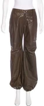 LGB Mid-Rise Leather Pants