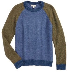 Tucker + Tate Boy's Colorblock Knit Sweater
