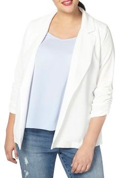 Evans Plus Size Women's Crepe Blazer