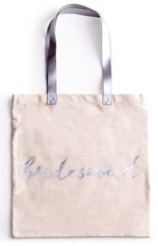 Rosanna 'Bridesmaid' Canvas Tote - White