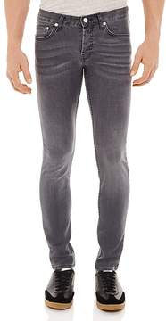Sandro Pixies Washed Slim Fit Jeans in Grey