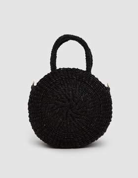 Clare Vivier Woven Petit Alice Bag in Black