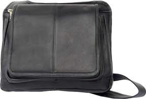 Piel Leather Slim Line Flap Over Bag 2005