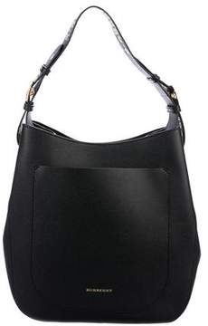 Burberry Pebbled Leather Hobo
