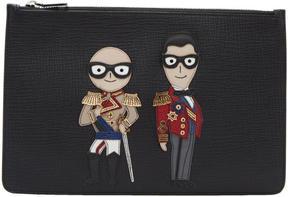 Dolce & Gabbana Black Knight Designers Pouch