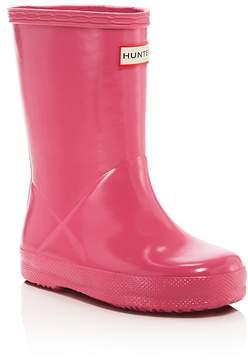Hunter DUPE Girls' Gloss First Classic Rain Boots - Toddler