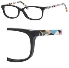 Fendi Eyeglasses 173 0TTY Black Multi-C