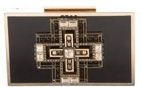 Lanvin Embellished Box Clutch
