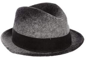 Paul Smith Wool Bow-Embellished Hat