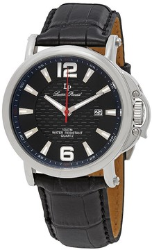 Lucien Piccard Triomf Black Dial Men's Watch