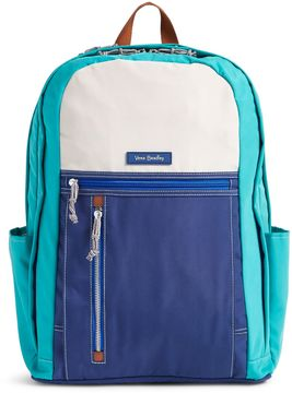 Vera Bradley Grand Backpack - MINERAL BLUE - STYLE