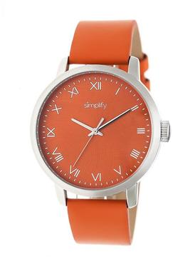 Simplify The 4200 Collection SIM4203 Stainless Steel Analog Watch
