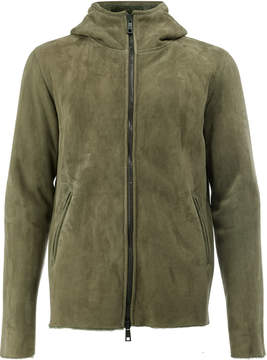 Giorgio Brato hooded zip jacket