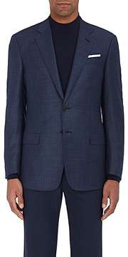 Giorgio Armani Men's Soft Houndstooth Wool Two-Button Sportcoat