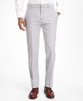Brooks Brothers Stripe Cotton Seersucker Suit Trousers
