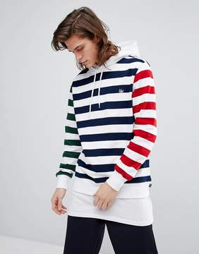 HUF Kennedy Hoodie With Contrast Stripes