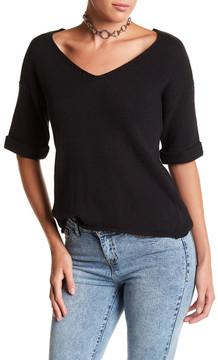 Noisy May Malin Drop Shoulder V-Neck Sweater