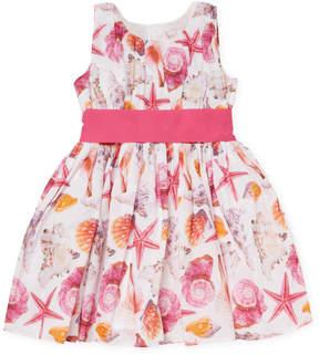 Halabaloo Shell Bodice Dress