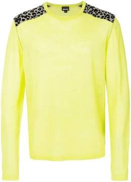 Just Cavalli leopard imprints sweatshirt