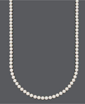 Belle de Mer Pearl Necklace, 36 14k Gold A+ Cultured Freshwater Pearl Strand (7-1/2-8mm)