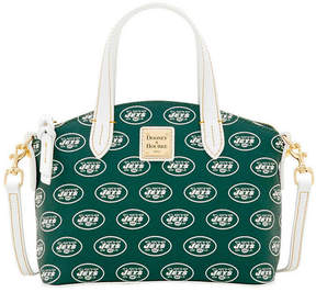 Dooney & Bourke New York Jets Ruby Mini Satchel Crossbody - GREEN - STYLE