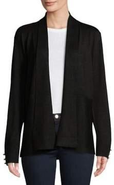 Isaac Mizrahi IMNYC Embellished-Cuff Cardigan