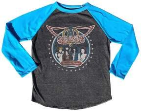 Rowdy Sprout Boy's Aerosmith Raglan Tee