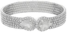 Cezanne Pear Rhinestone Cuff Bracelet
