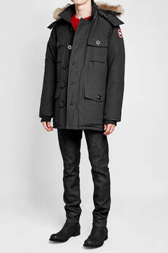 Canada Goose Banff Down Parka with Fur-Trimmed Hood