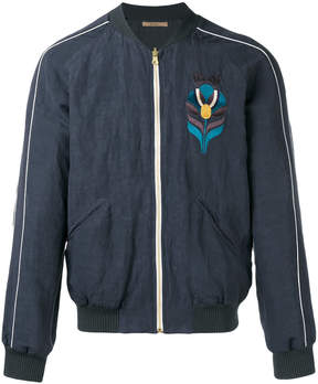 Nuur embroidered bomber jacket