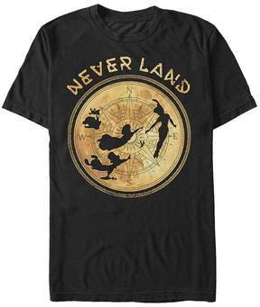 Fifth Sun Peter Pan Black 'Never Land' Tee - Men